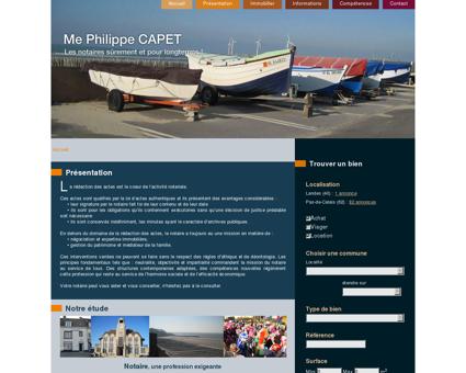 Etude de Me Philippe CAPET | Notaire à Le...