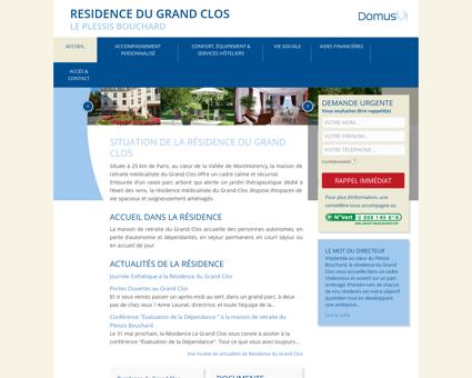 Residence du Grand Clos : Maison de retraite...