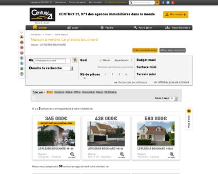 Vente Maison à LE PLESSIS BOUCHARD (95130)
