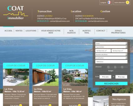 Immobilier La Crau - Rocbaron - Nos agences...
