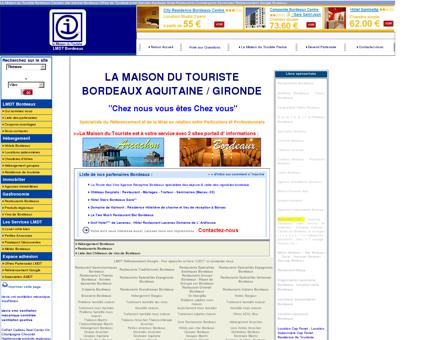 MAISON DU TOURISTE BORDEAUX LMDT 33...