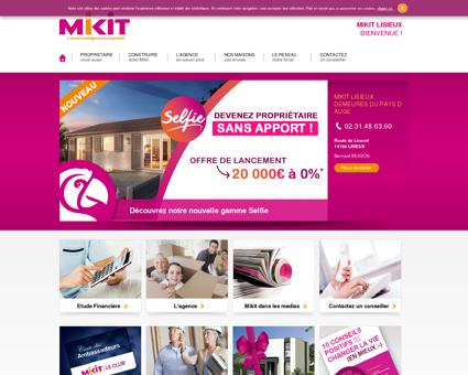 Constructeur maison Lisieux - Mikit -...