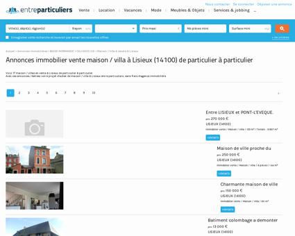 Maison / villa à vendre à Lisieux (14100) :...