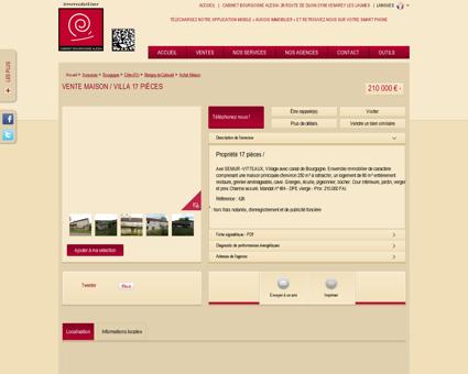 Vente - Propriété à Marigny le Cahouet :...