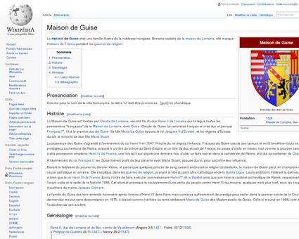 Maison de Guise  Wikipédia