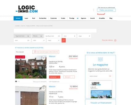 Maison à vendre Hazebrouck 59190, vente...