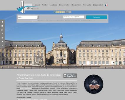 Immobilier Saint Loubès | Altiximmo 33