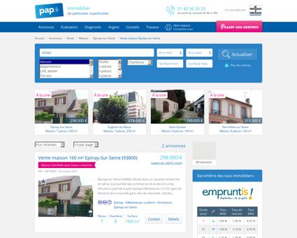 Vente maison Épinay-sur-Seine (93800) | De...