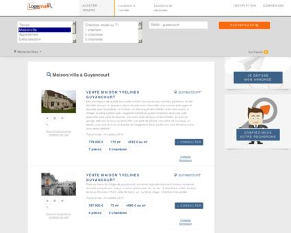 Vente maison guyancourt - Tous types appartements et villas.