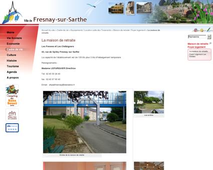 La maison de retraite - Fresnay sur Sarthe