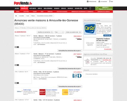 Vente maison à Arnouville-lès-Gonesse...