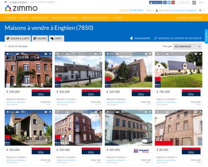Maisons à vendre à Enghien (7850) - Zimmo.be