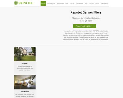 Repotel Gennevilliers - Maison de retraite...