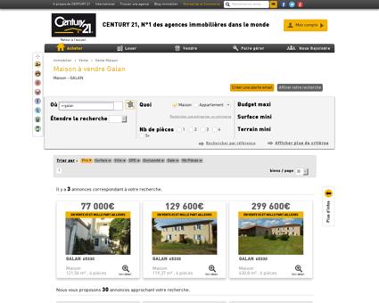 Vente Maison à GALAN (65330) - Agence...