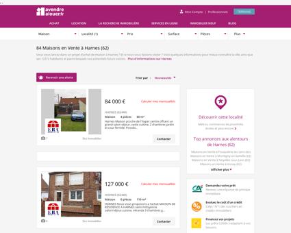 Vente Maison Harnes (62) | Acheter Maison...