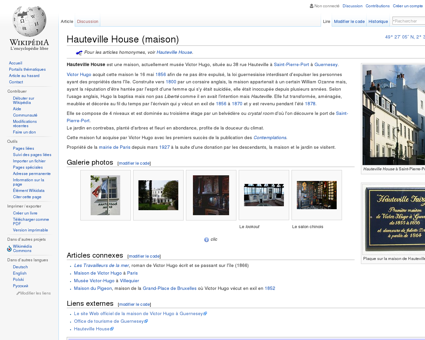 Hauteville House (maison)  Wikipédia