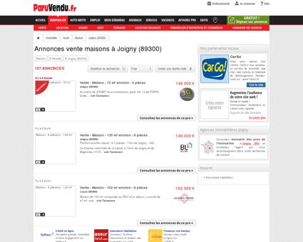 Vente maison à Joigny (89300) : annonces...