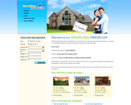 GRAVELINES IMMOBILIER - Accueil