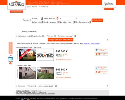 Achat maison Francheville 69340 avec Solvimo