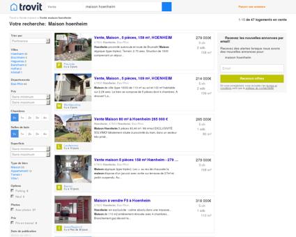 Maison hoenheim - Trovit - Moteur de...