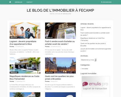Le blog de l'immobilier à Fecamp | Toute...