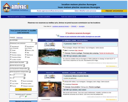 location maison piscine Auvergne - louer...