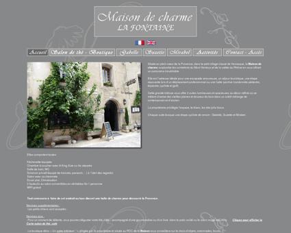 Maison de charme La Fontaine, Chambres...