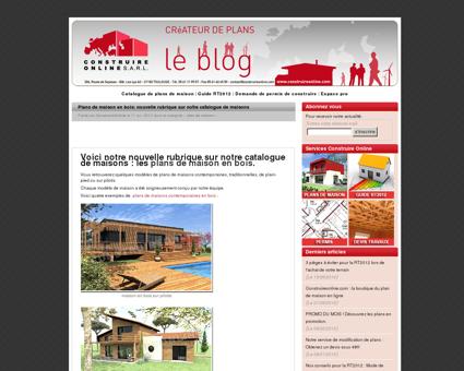 Plans de maison en bois: nouvelle rubrique sur...