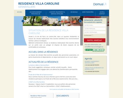 Residence Villa Caroline : Maison de retraite ...