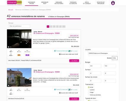 Achat Maison Châlons en Champagne (51000)...