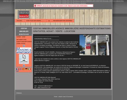 CESTAS IMMOBILIER agence immobilière en...