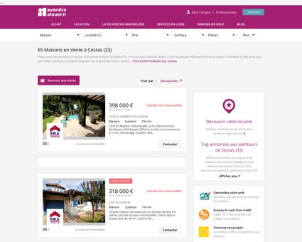 Vente Maison Cestas (33) | Acheter Maison...