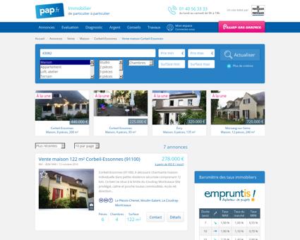 Vente maison Corbeil-Essonnes (91100)   De...