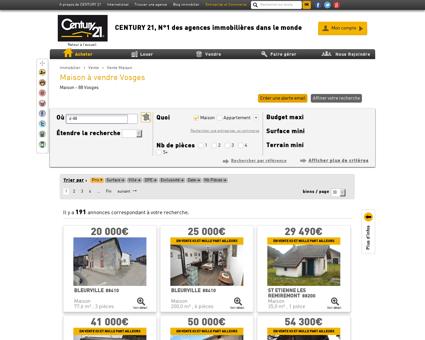 Vente Maison à Vosges (88) - Agence...