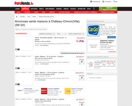 Vente maison à Château-Chinon(Ville) (58120) :...