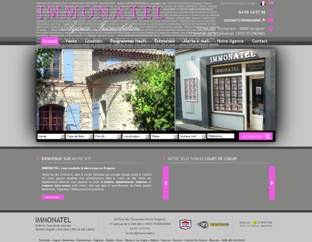Immobilier Avignon Intra Muros et environs,...