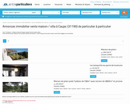 Maison / villa à vendre à Caujac (31190) :...