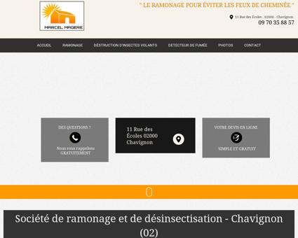 ramonage, desinsectisation maison  Chauny |...