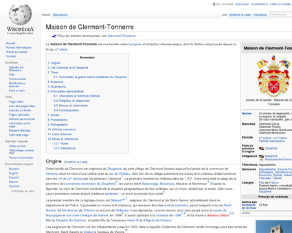 Maison de Clermont-Tonnerre  Wikipédia