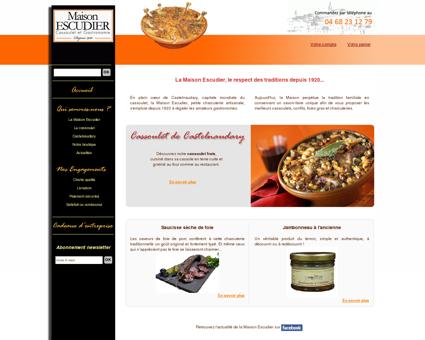 Cassoulet de castelnaudary, foie gras de...