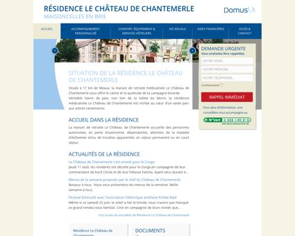 Résidence Le Château de Chantemerle : Maison...