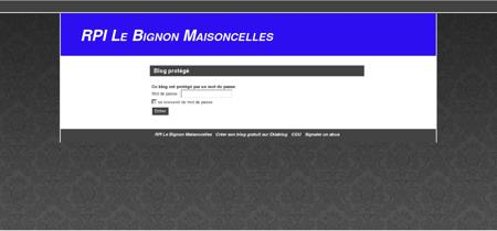 RPI Le Bignon Maisoncelles -
