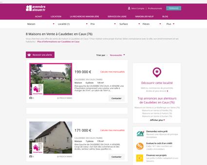 Vente Maison Caudebec en Caux (76) | Acheter...
