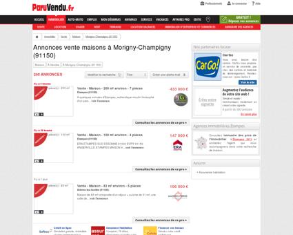 Vente maison à Morigny-Champigny (91150) :...