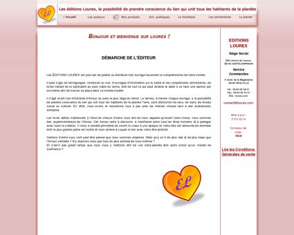 Lourex.com, maison d'édition