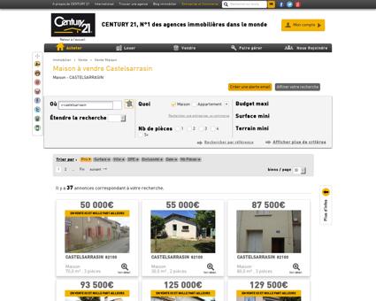 Vente Maison à CASTELSARRASIN (82100) -...
