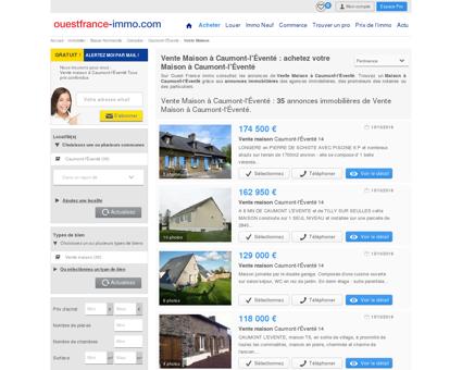 Caumont-l'Éventé : Annonces Vente Maison à...