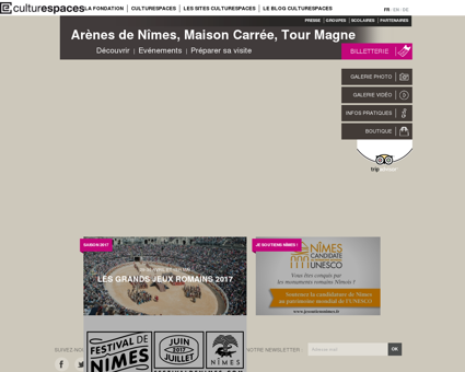 Arènes de Nîmes, Maison Carrée, Tour Magne ...