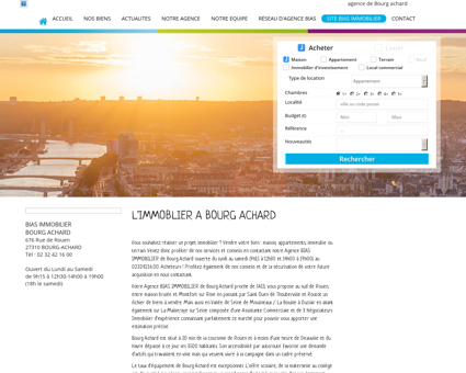 BIAS IMMOBILIER agence immobiliere : BOURG...