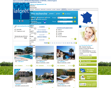 Agence immobilière IMMOBILIER...